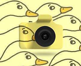 搜米儿童单反玩具相机