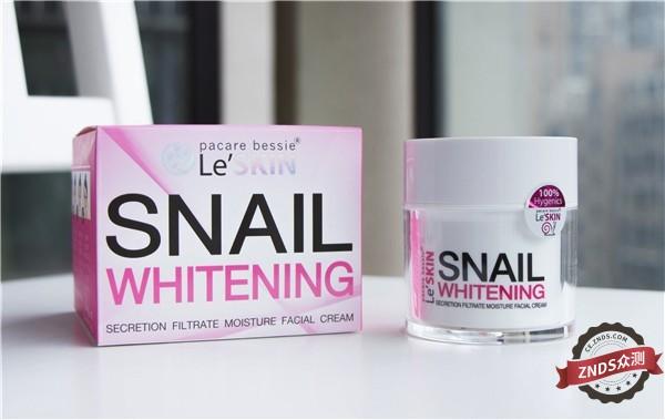 【ZNDS众测】乐丝汀LeSKIN蜗牛霜试用,焕活你的肌肤