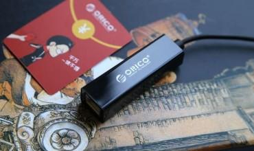 扩展MacBook Pro USB接口:ORICO外置便携网卡